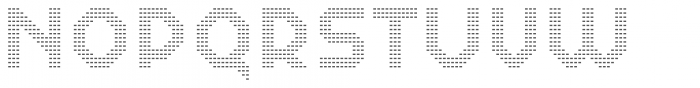 Dance Floor Mini Diamond Font UPPERCASE