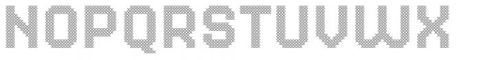Dance Floor Net Font LOWERCASE