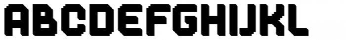 Dance Floor Prism Font LOWERCASE