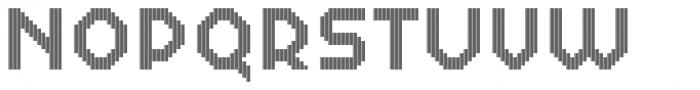 Dance Floor Tartan Font UPPERCASE