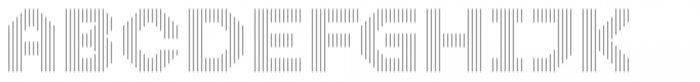 Dance Floor Vertical Outline Font UPPERCASE
