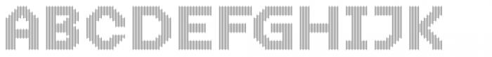 Dance Floor Vertical Font UPPERCASE