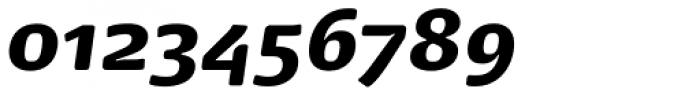 Dancer Pro Black Italic Font OTHER CHARS