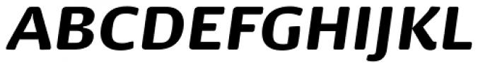 Dancer Pro Black Italic Font UPPERCASE