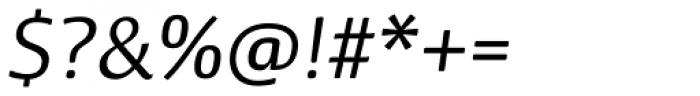 Dancer Pro Light Italic Font OTHER CHARS