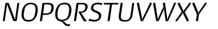 Dancer Pro Light Italic Font UPPERCASE