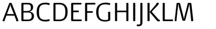 Dancer Pro Light Font UPPERCASE