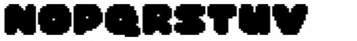 Dancin' Pixel Frame One Font UPPERCASE