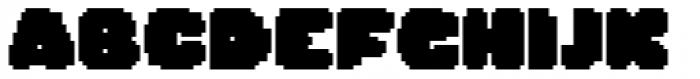 Dancin' Pixel Frame Two Font UPPERCASE