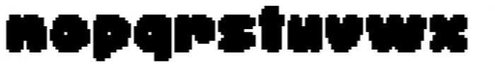 Dancin' Pixel Frame Two Font LOWERCASE