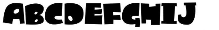 Dandygal Font UPPERCASE