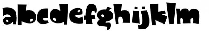 Dandygal Font LOWERCASE