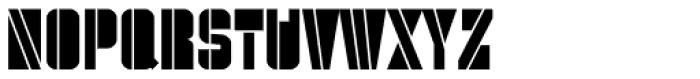 Danger Block Font UPPERCASE