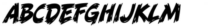 Danger Girl Brush Font UPPERCASE
