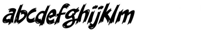 Danger Girl Brush Font LOWERCASE
