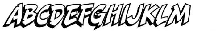 Danger Girl Open Font UPPERCASE