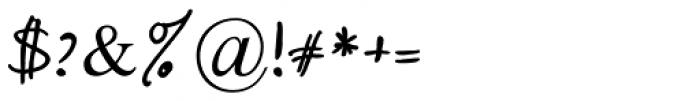 Daniel MF Regular Font OTHER CHARS