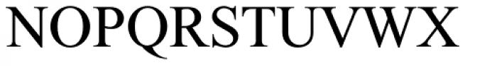 Daniel MF Regular Font UPPERCASE