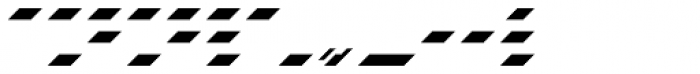 Danke Kurt Horizontal Font LOWERCASE
