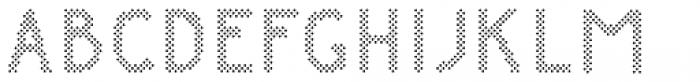 Danken Dots Font UPPERCASE