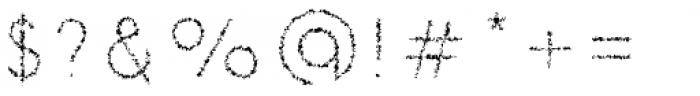 Danken Inner Rough Font OTHER CHARS