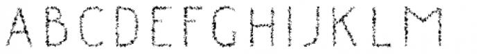 Danken Inner Rough Font LOWERCASE