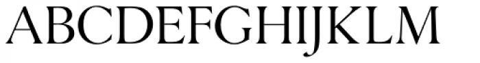 Danmark URW Light Font UPPERCASE