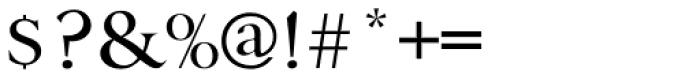Danmark URW Medium Font OTHER CHARS