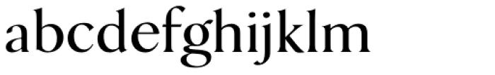 Danmark URW Medium Font LOWERCASE