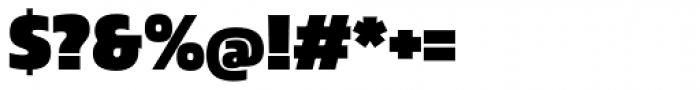 Danos Black Font OTHER CHARS