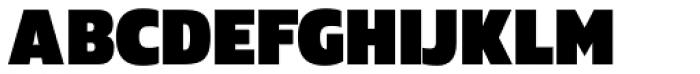 Danos Black Font UPPERCASE