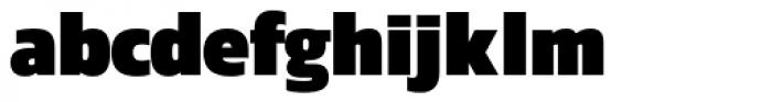 Danos Black Font LOWERCASE