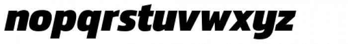 Danos Extra Bold Italic Font LOWERCASE