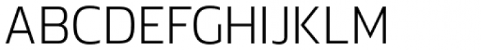 Danos Extra Light Font UPPERCASE