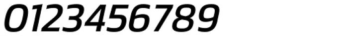 Danos Regular Italic Font OTHER CHARS