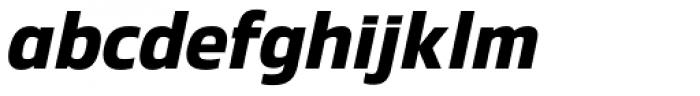 Danos Semi Bold Italic Font LOWERCASE
