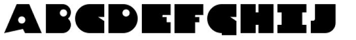 Danrex 300 Black Font UPPERCASE
