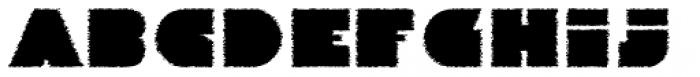 Danrex 400 Black Font LOWERCASE