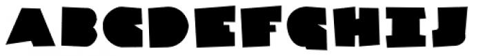 Danrex 500 Black Font UPPERCASE