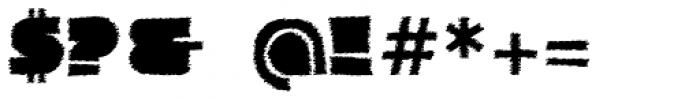 Danrex 600 Black Font OTHER CHARS