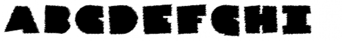 Danrex 600 Black Font UPPERCASE