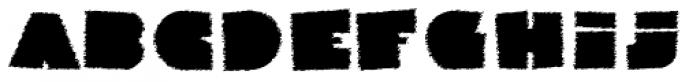 Danrex 600 Black Font LOWERCASE