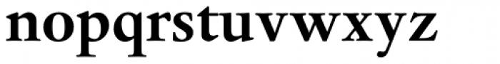 Dante EText Bold Font LOWERCASE