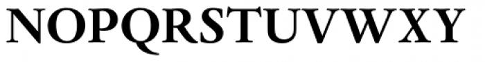 Dante MT Std Bold Font UPPERCASE