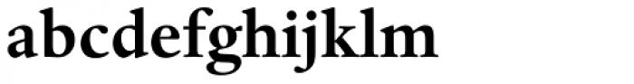 Dante MT Std Bold Font LOWERCASE