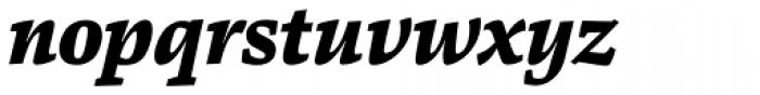 Danton Black Italic Font LOWERCASE