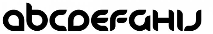 Danube Pro Bold Font UPPERCASE