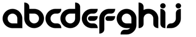 Danube Pro Bold Font LOWERCASE