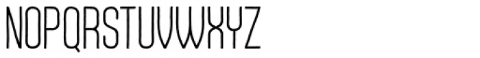 Daphne Light Font UPPERCASE