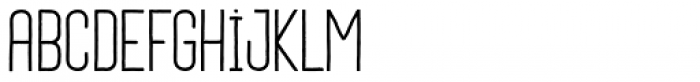 Daphne Light Font LOWERCASE